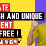 How Generate Fresh and Unique Content For Free