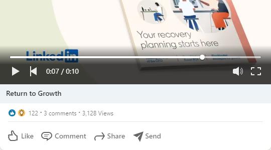 linkedin short video